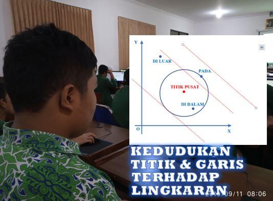 latihan soal kedudukan titik dan garis terhadap lingkaran