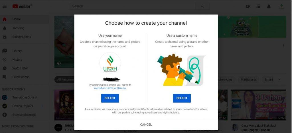 cara membuat channel youtube menghasilkan uang