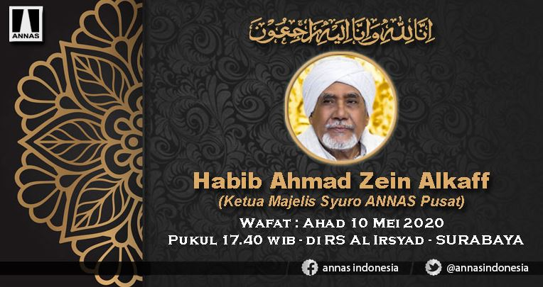 habib zein al kaff meninggal dunia