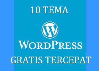 tema wordpress gratis tercepat