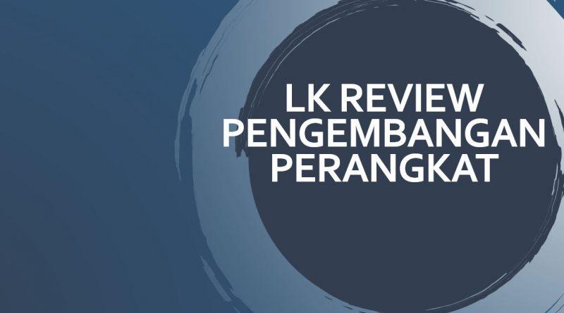 LK review pengembangan perangkat