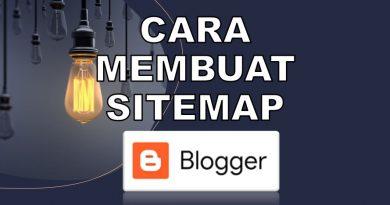 cara membuat sitemap untuk blogspot