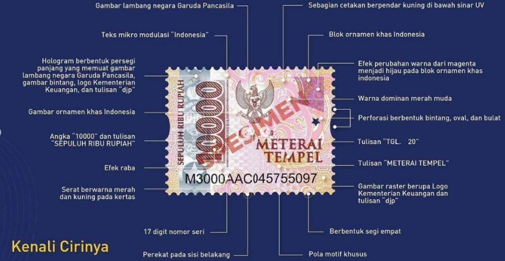 materai 10000
