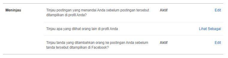 akun facebook ditag